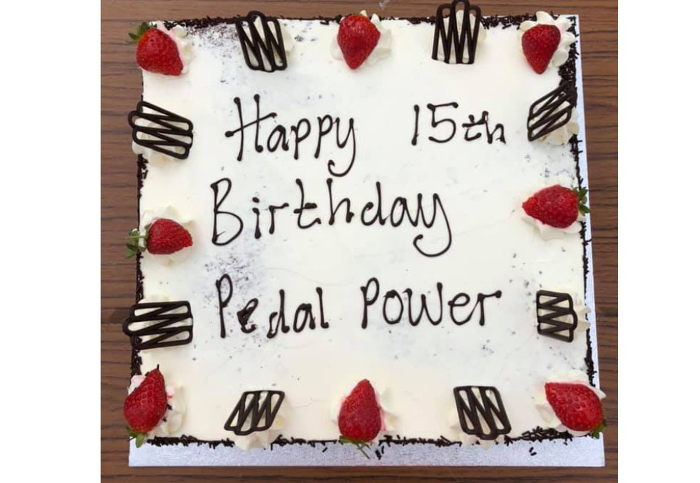 Pedal Power celebrates its 15th Birthday