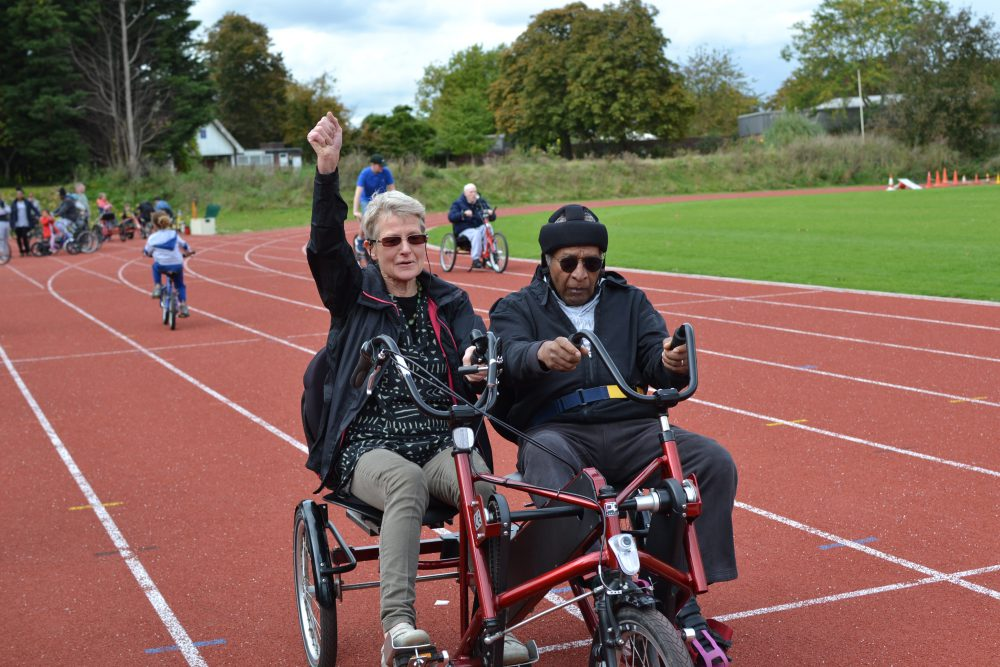 2021 Saturday sessions at the Finsbury Park Athletics track (pre-booking required)