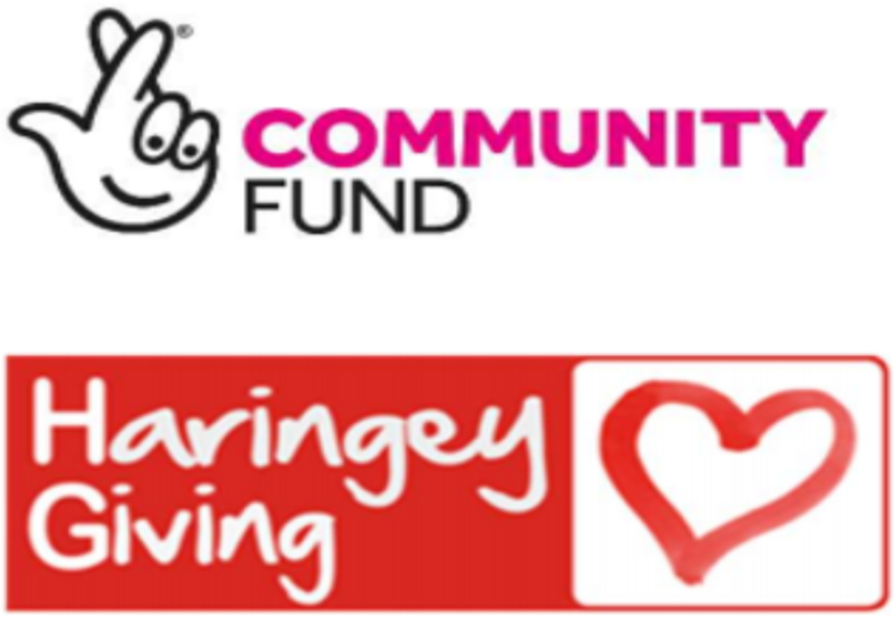 Funding from The National Lottery Community Fund, distributed by Haringey Giving